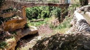 نگاره:  پلی که ماندو رودها رفتند
