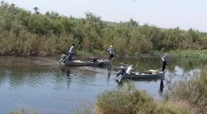 ماهیگیری با برق در آبهای خوزستان