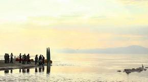 نگاره:  امیدواران نجات دریاچه ارومیه
