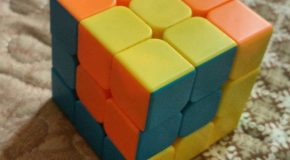 نگاره:  اثرات بیماری و خانهنشینی و تمام شدن کتابی که میخوانیCube in a #cube#مکعب در مکعب#روبیک #rubik